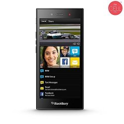 BlackBerry STJ100-1 Z3 Factory Unlocked Touchscreen Long-lasting Battery Smartphone 5MP Camera 8 Gb - Black