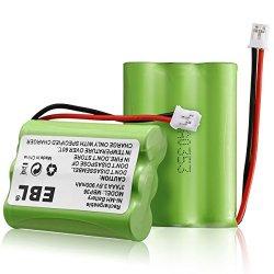 EBL 2 Pack TFL3X44AAA900 Motorola Baby Monitor Batteries 3.6V 900MAH Ni-mh For Motorola MBP36 MBP27T MBP33 MBP33S MBP33PU MBP36S MBP36PU