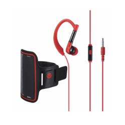 Volkano Haste Series Sports Hook in Earphones with Arm Pouch