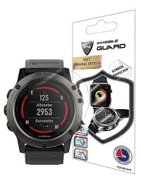 For Garmin Fenix 5X 51MM Watch Screen Protector 2 Units Invisible Ultra HD Clear Film Anti Scratch Skin Guard - Smooth Self-healing Bubble -free By Ipg