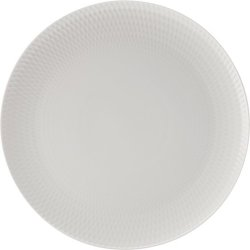 Maxwell & Williams White Basics Diamonds 36cm Round Platter -