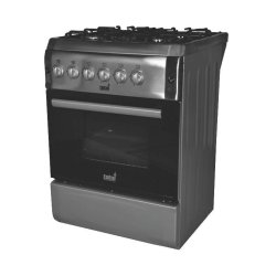 Totai 60cm 4 Burner Gas Stove & Electric Oven in Stainless Steel