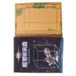 MU GJ-02 3D Puzzle Model Clear Transparent Dust-proof Display Box Cover Case
