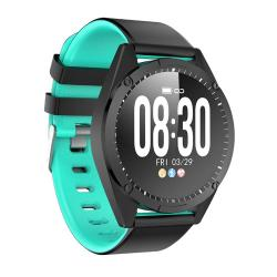 G50 1.3 Inch Ips Color Screen Smartwatch IP67 Waterproof Support Call Reminder heart Rate Monitoring blood Pressure Monitoring sleep Monitoring sedentary Reminder Turquoise