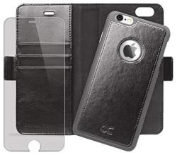 ce9013f4166 OCASE Iphone 6 Plus Case Iphone 6S Plus Case Magnetic Detachable Case Wallet  Leather Case Screen Protector Included For Apple Iphone 6 PLUS 6S Plus  Devices ...