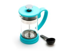 TWO Cup Coffee Plunger Blue