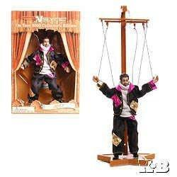 """6"""" Joey Fatone Marrionette Action Figure - 'nsync On Tour 2000 Collector's Edition """"no Strings Attached"""