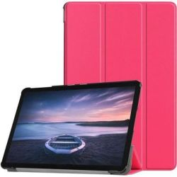 "Tuff-Luv Flip Case For Samsung Galaxy Tab S4 10.5"" - Candy Pink"