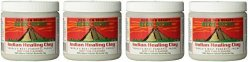 Aztec Secret Atxdiv Indian Healing Clay Deep Pore Cleansing 1 Pound 4 Pack