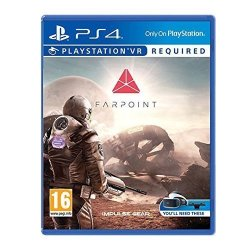 By Sony Farpoint - Psvr PS4 - UK Import Region Free