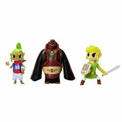 The Legend Of Zelda World Of Nintendo Micro Land Tetra Link And Ganondorf Figures