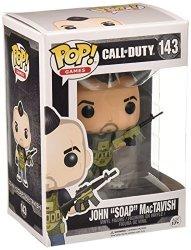 "Funko Call Of Duty John ""soap"" Mactavish Pop Games Figure"