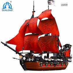 PampasSK Blocks - Qunlong Pirates Of The Caribbean Black Pearl Ship Model  Building Kits Blocks Compatible Legoings Diy Bricks Fo | R3250 00 | Dolls |