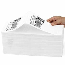 Methdic 4X6 Fold Thermal Direct Shipping Label For Ups Usps 1 Stack 1000 Labels