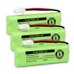 QTKJ BT183482 BT283482 Battery For Vtech DS6401 DS6421 DS6422 DS6472 LS6405 LS6425 LS6425-3 LS6426 LS6475 LS6475-3 LS6476 89-1348-01 Cordless Phone Ha