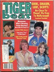 Tiger Beat Magazine August 1979- Shaun Cassidy- Scott Baio- Tony Danza