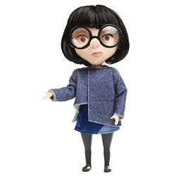 Jakks The Incredibles 2 Edna Action Figure Doll In Deluxe Blue Costume And Glasses