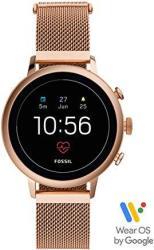 Fossil Women's Gen 4 Venture Hr Heart Rate Stainless Steel Mesh Touchscreen Smartwatch FTW6031