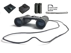 BODEGAmall Binoculars 8X21 Small Compact MINI Pocket Folding Lightweight High-resolution With Fully Multi-coated Lens - Concert