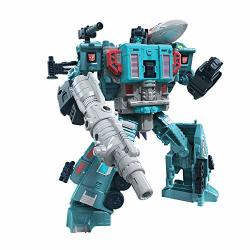 Transformers Toys Generations War For Cybertron: Earthrise Leader WFC-E23 Doubledealer Triple Changer Action Figure - Kids Ages 8 And Up 7-INCH