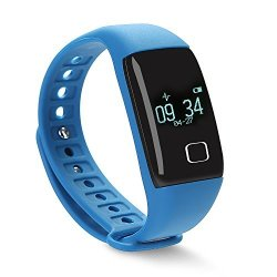 TKOOFN Heart Rate Smart Wristbands Touch Bracelet Bluetooth Passometer Sports Fitness Tracker For Io