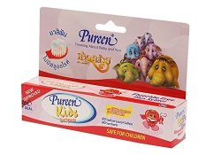 Pureen Baby Toothpaste . Strawberry Flavor 1.4 Ounce