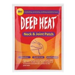 Deep Heat Neck & Joint Patch Single