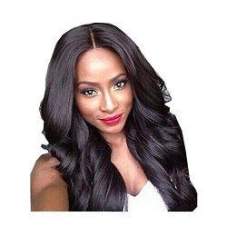 Vibola Dark Brown Brazilian Hair African American Big Curly Wavy Women Wig Hair