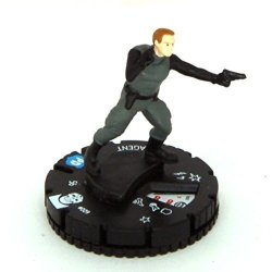 Heroclix Dc Justice League Trinity War 009 D.e.o. Agent Figure Complete With Card