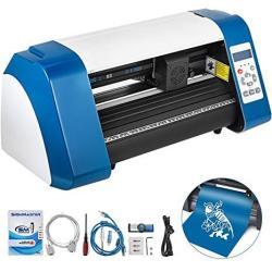 Vevor Vinyl Cutter 14 Inch Vinyl Cutter Machine 375MM Vinyl Printer Cutter Machine LED Fill Light Strip Vinyl Plotter Cutter Mac