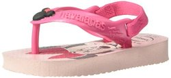 Havaianas Baby Disney Classics Sandal Pearl Pink 23 24 Br toddler 9 M Us