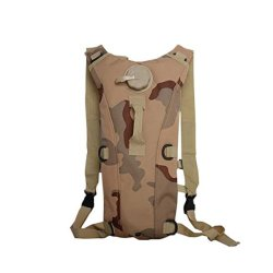 Override Hydration Pack With 2.5L Backpack Water Bladder For Hunting Climbing Running And Hikingdesert Camouflage