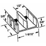 Prime-Line Products 192971 Shower Door Bottom Guide Assembly Pack Of 2