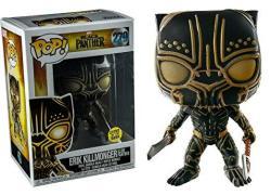 Funko Pop Marvel Black Panther Erik Killmonger Glow In The Dark Panther Exclusive
