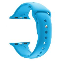 38MM Silicon Apple Watch Strap By Zonabel - Sky Blue