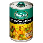 Rhodes - Canned Mixed Vegetable In Curry Sauce 410G