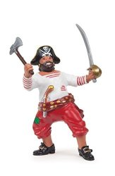 """C & J Direct GmbH & Co. KG Papo """"pirate With Axe Figure"""