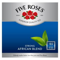 Five Roses African Blend Teabags 102 Pack