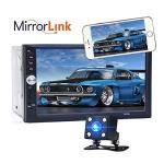 Eaglerich Car Audio Touch Screen Reversing Priority 7 Inch HD 2 Din Universal Car MP5 MP4 USB Tf Aux In Bluetooth Fm Radio Rear