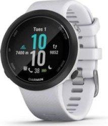 Garmin Swim 2 Specialised Swimming Smartwatch Whitestone White