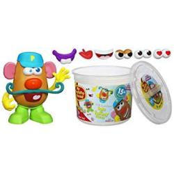 EWarehouse Playskool Mr. Potato Head Tater Tub Set Parts And Pieces Container Toddler Toy For Kids