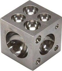 """Jsp Dapping Block 1.5"""" High Carbon Steel"""