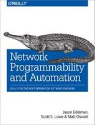 Network Programmability And Automation Paperback