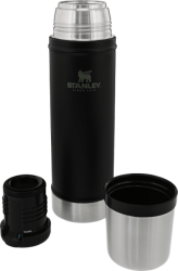 Stanley - Classic Vacuum Flask - 0.47LITRE - Black