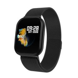 X16 1.3 Inch Tft Color Screen IP67 Waterproof Bluetooth Smartwatch Support Call Reminder Heart Rate Monitoring blood Pressure Monitoring Sleep Monitoring Black