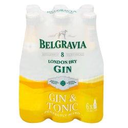 BELGRAVIA - Gin And Tonic 6X275ML