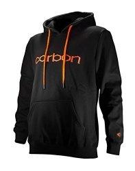 Carbon Hoodie Black - Orange Large Black - Orange
