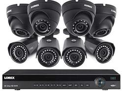Lorex 16 Channel 4K Nvr 8 Ip Cameras Security System NR9163X 3TB 4 4MP Dome And 4MP Ip Bullet Cameras