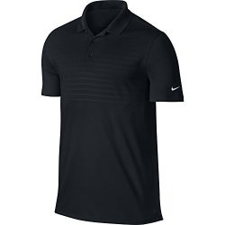 Nike Golf Victory 2.0 Emboss Polo Small Black white