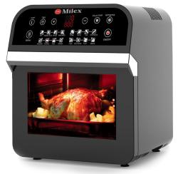 Milex 12l Digital Hurricane Power AirFryer Oven with Rotisserie